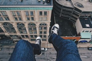 Hypnotherapy to cure a fear of heights at Sean Mc Gee Hypnotherapy
