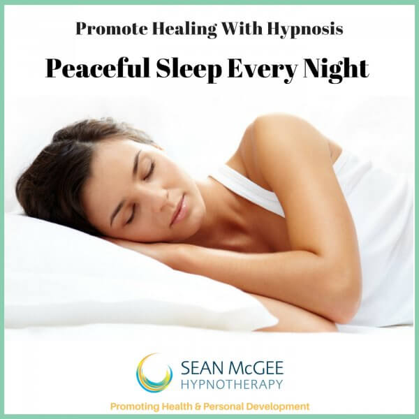 Peaceful Sleep Every Night. Sleep hypnosis from Sean Mc Gee Hypnotherapy