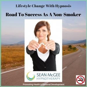 Road To Success Non Smoker. Stop smoking hypnosis from Sean Mc Gee Hypnotherapy