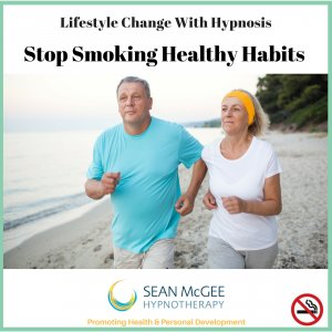 Stop Smoking Healthy Habits. Stop Smoking hypnosis from Sean Mc Gee Hypnotherapy