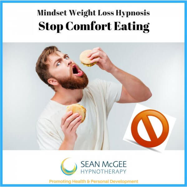 Stop comfort eating and lose weight. Weight Loss hypnosis from Sean Mc Gee Hypnotherapy